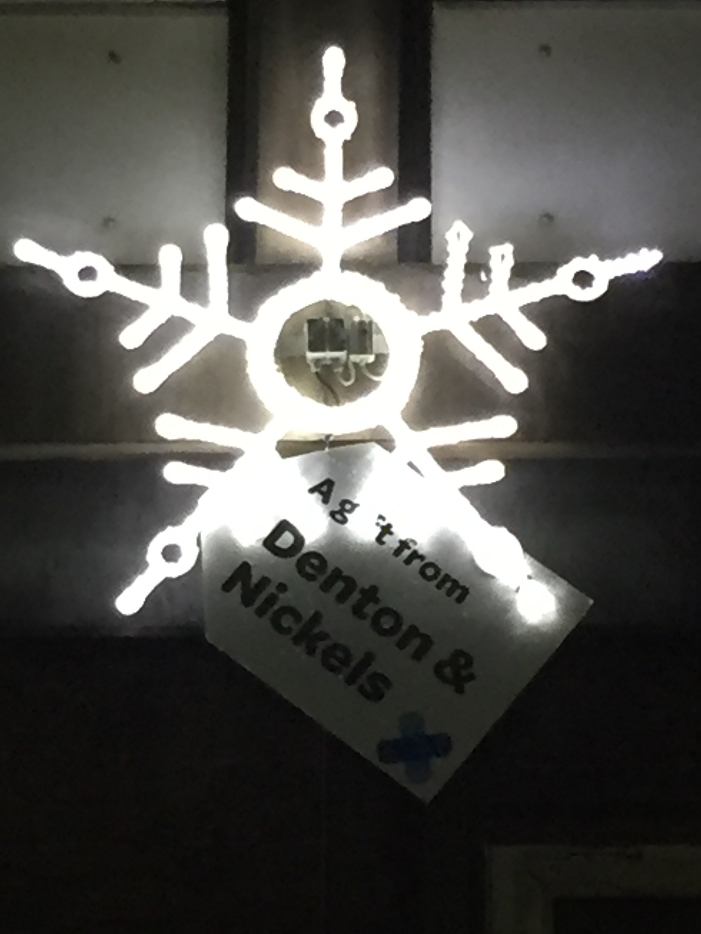 Christmas star 2015